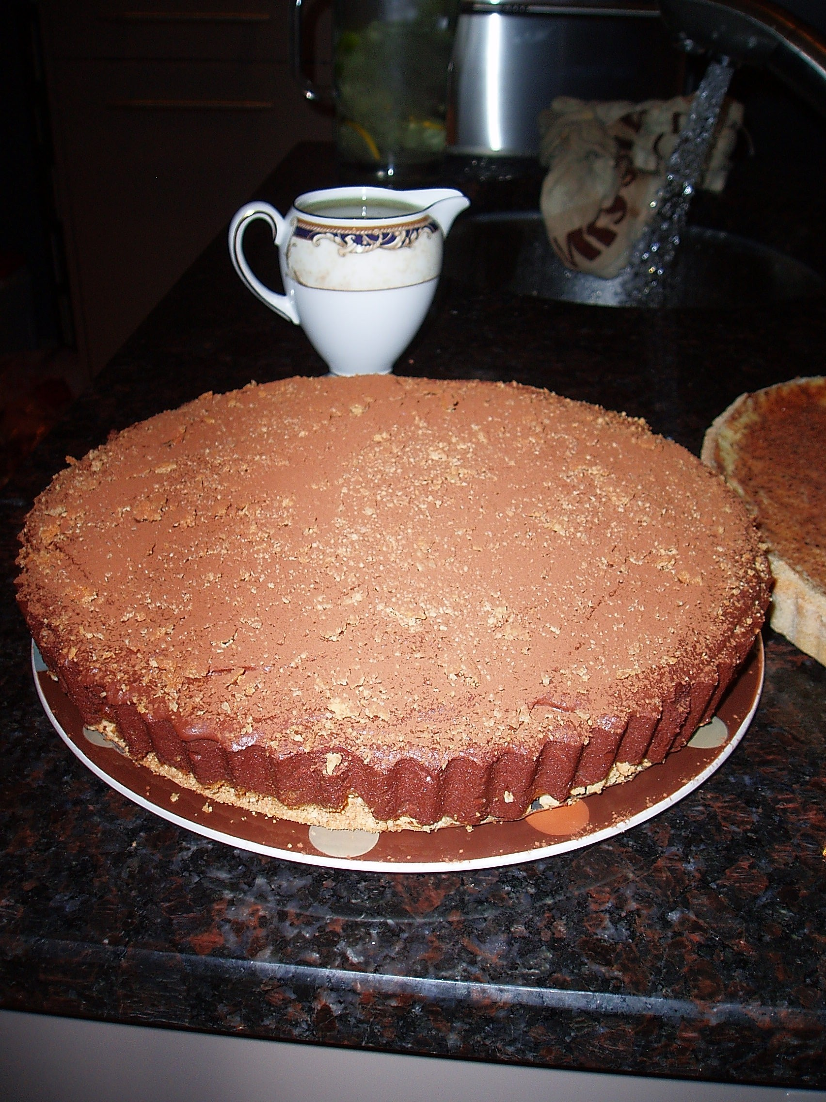 Chocolate-amaretto-torte